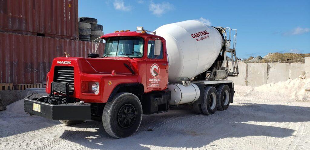 Central Mix Concrete - Model Truck