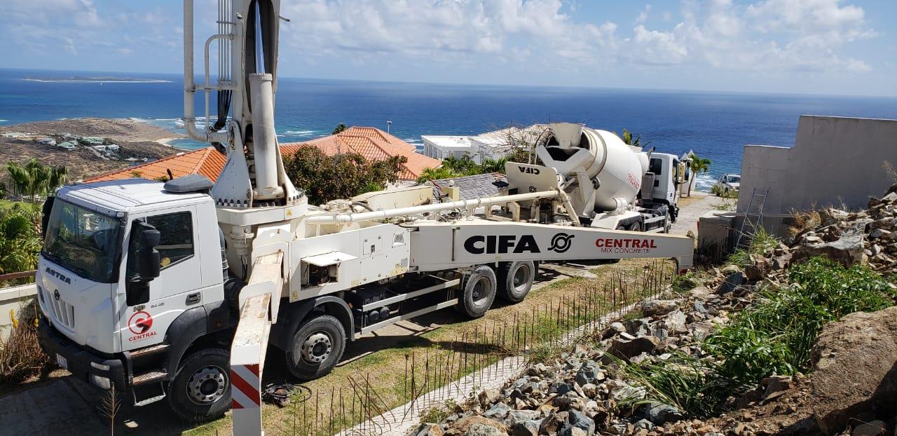 Central Mix Concrete - Pump truck & Mixer