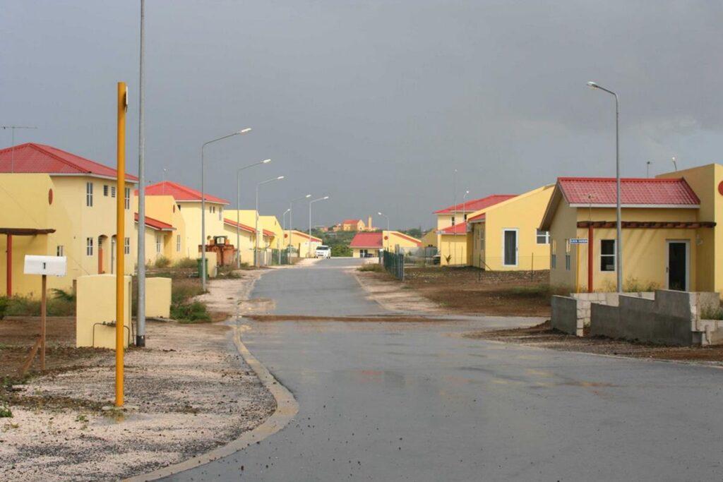 EWP Mahuma ingang wijk