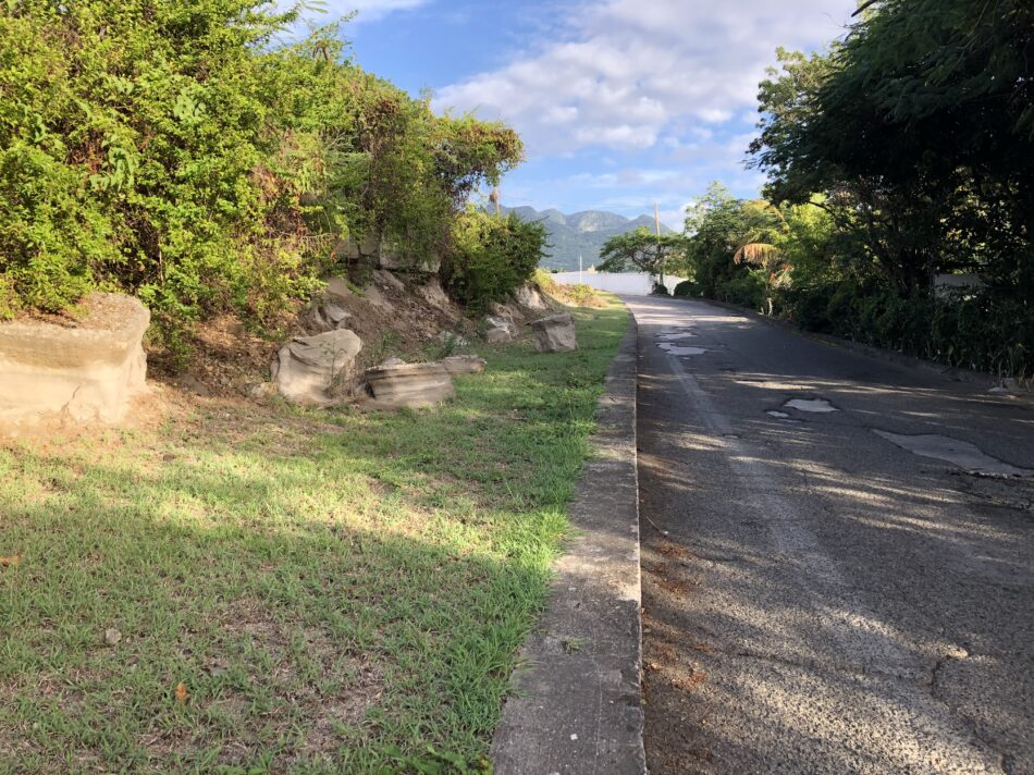 Statia Roads - Smoke Alley Project Begin