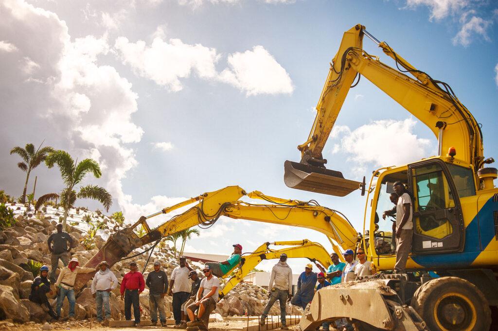 Statia Roads Team - Golden Rock Project